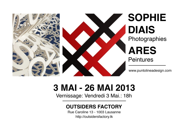 Diais  Ares 3 Mai-26 Mai 2013, Outsiders factory